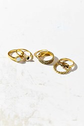 Urban Outfitters New Ring Pack Gold