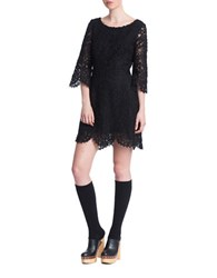 Plenty By Tracy Reese A Line Lace Dress Black