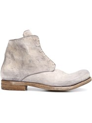 A Diciannoveventitre Distressed Boots Grey