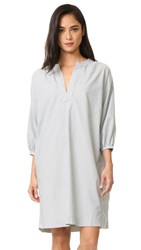 The Great Great. Easy Tunic Dress Indigo Stripe