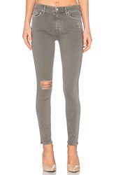 Mother High Waisted Looker French Grey