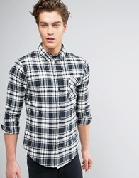 Another Influence Check Shirt Black