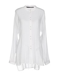 Isabel Benenato Shirts White