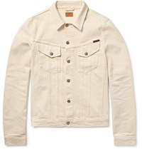 Nudie Jeans Billy Organic Stretch Denim Jacket Neutrals