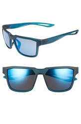 Nike Women's Fleet 55Mm Sport Sunglasses Matte Midnight Turquoise