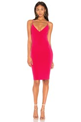 Nookie X Revolve Ti Amo Dress Fuchsia