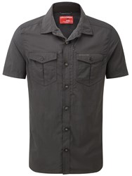 Craghoppers Nosilife Advanced Short Sleeved Shirt Black