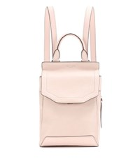 Rag And Bone Small Pilot Leather Backpack Pink