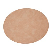 Lind Dna Table Mat Oval Peach