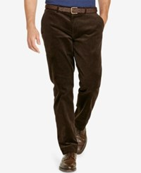Polo Ralph Lauren Men's Big And Tall Stretch Classic Fit Corduroy Pants Worth Brown
