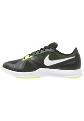 Nike Performance Air Epic Speed Tr Sports Shoes Black White Volt