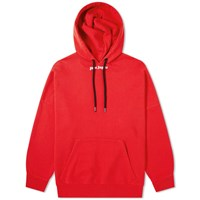 Palm Angels Logo Popover Hoody Red