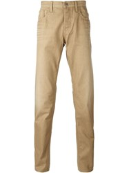 Gucci Straight Leg Jeans Nude And Neutrals