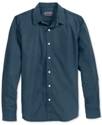 American Rag Men's Solid Shirt Created For Macy's Grey Eagle