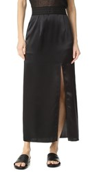 Baja East Satin Skirt Embassy