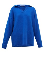 Extreme Cashmere No.101 Jules Blend Sweater Blue