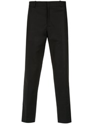 Egrey Tailored Straight Fit Trousers Black