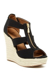 14Th And Union Thea Espadrille Wedge Sandal Black