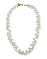 Nest Mother Of Pearl Teardrop Necklace