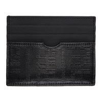 Black 'Forever Fendi' Slim Card Holder