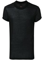 Rick Owens Drkshdw Short Sleeve T Shirt Black