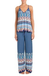 In Bloom By Jonquil Women's Knit Pajamas Indian Festival