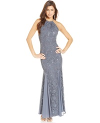 Jump Juniors' Sequin Lace Mermaid Gown