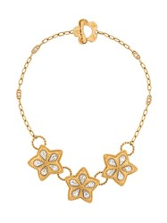 Kenzo Vintage Star Pendant Necklace Gold