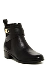 Isaac Mizrahi Shandy Leather Bootie Black