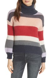 Ted Baker London Colour By Numbers Moliea Stripe Sweater Grey