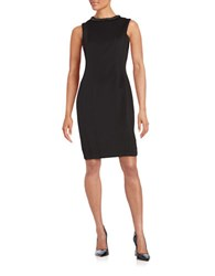 Karl Lagerfeld Sleeveless Bodycon Dress Black