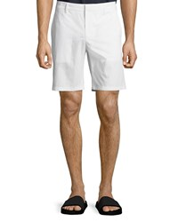 Vince Cotton Chino Shorts Optic White