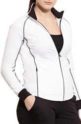 Lauren Ralph Lauren Plus Size Women's Colorblock Track Jacket