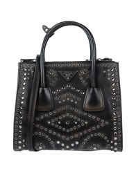 Prada Handbags Dark Brown