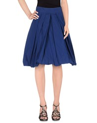 Marella Skirts Knee Length Skirts Women Dark Blue