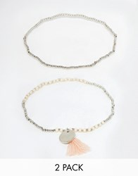 Pieces Olla Bracelet Pearl Gold