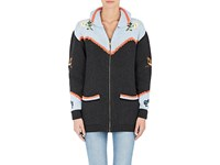 Stella Mccartney Women's Embroidered Cotton Wool Cardigan No Color