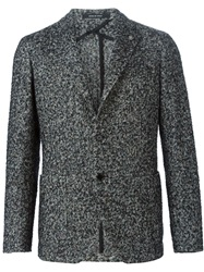 Tagliatore Speckled Blazer Grey