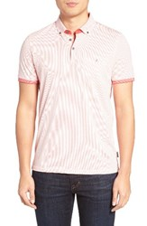 Ted Baker Men's London Callie Mesh Print Polo