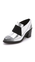 United Nude Nikki Mid Booties Silver