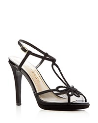 Caparros Claudia Platform High Heel Sandals Black