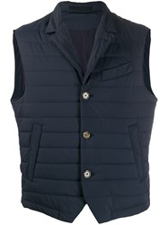 Eleventy Fitted Quilted Gilet 60