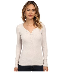 Mavi Jeans Basic Shirt With Buttons Melange Women's Clothing Silver