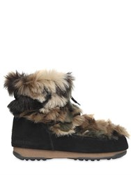 Moon Boot Mb We Low Faux Fur Boots
