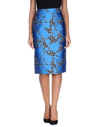 Balenciaga Skirts Knee Length Skirts Women Azure