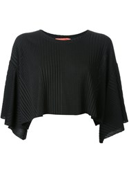 Manning Cartell Cropped Loose Fit T Shirt Black