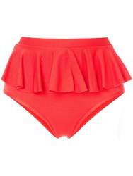 Duskii Cancun Bikini Bottoms Red