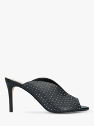 b069dda36186 Kurt Geiger London Broadwick Studded Stiletto Heel Mules Black