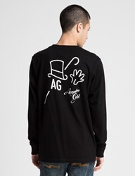 Acapulco Gold Black Ag T Shirt L S
