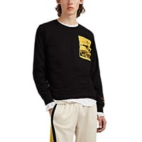 Ovadia And Sons Bruce Lee Cotton Long Sleeve T Shirt Black